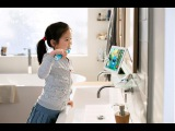 How to brush with the Philips Sonicare for Kids Electric Toothbrush