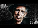 KEITH RICHARDS AGING (Face & Songs One Per Year 1962-2017)