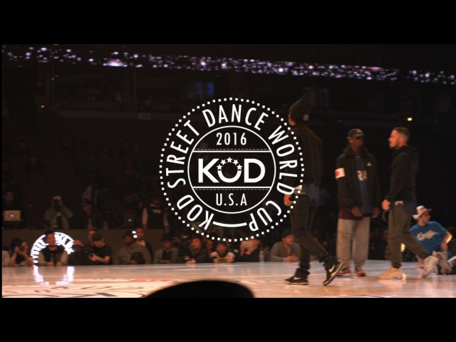 K.O.D. World Cup 2016 Final Hip Hop KOREA/FRANCE - Les Twins, Waydi, Boubou - Criminalz Crew