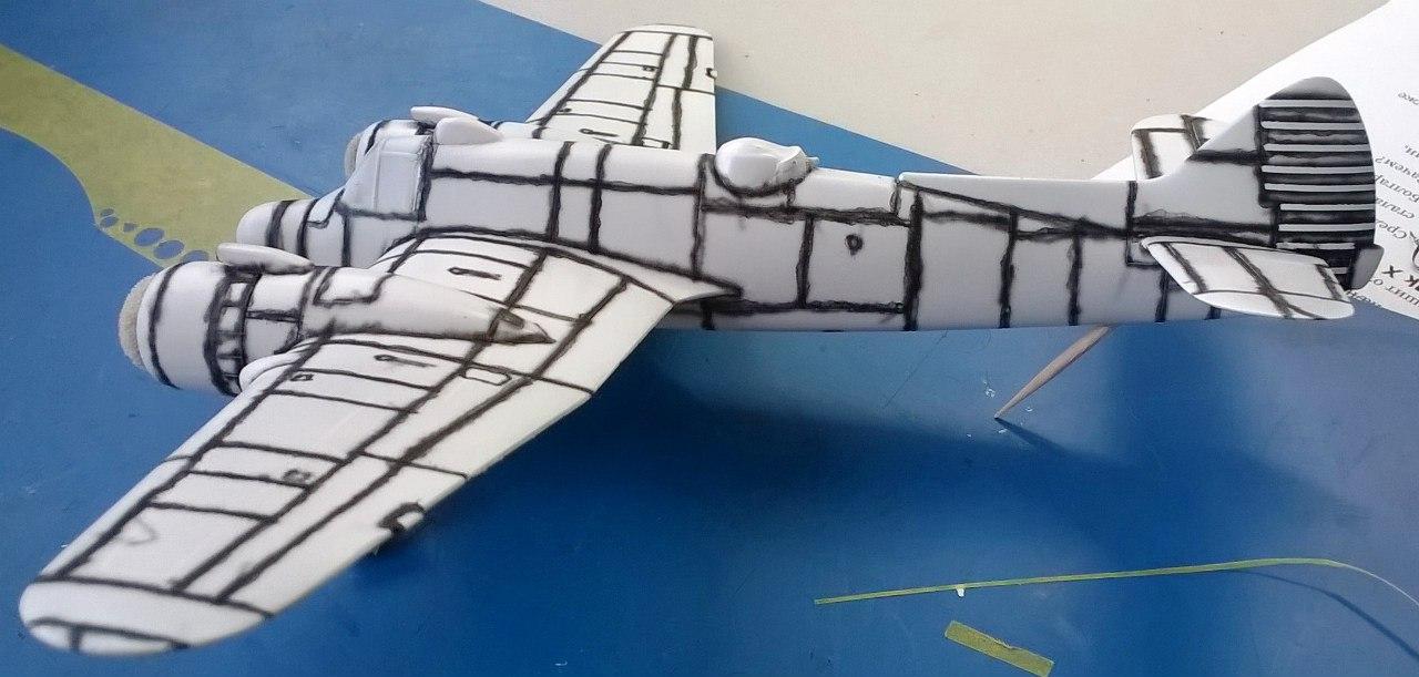 Bristol Beaufighter TF.Mk.X 1/72 (Revell) BAFlTesHBKY