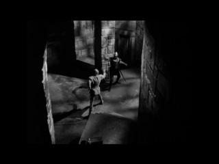 Черная стрела (1948). Поединок на мечах