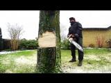 stihl ms 441 cut stump