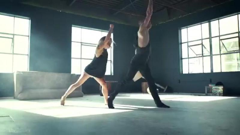 История расставания в танце.