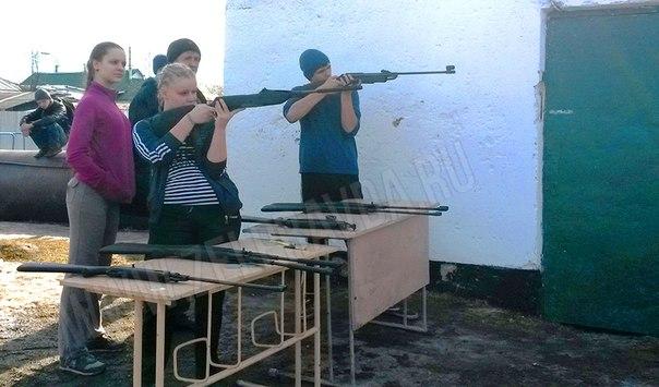 В станице Зеленчукской прошли соревнования по стрельбе из пневматической винтовки