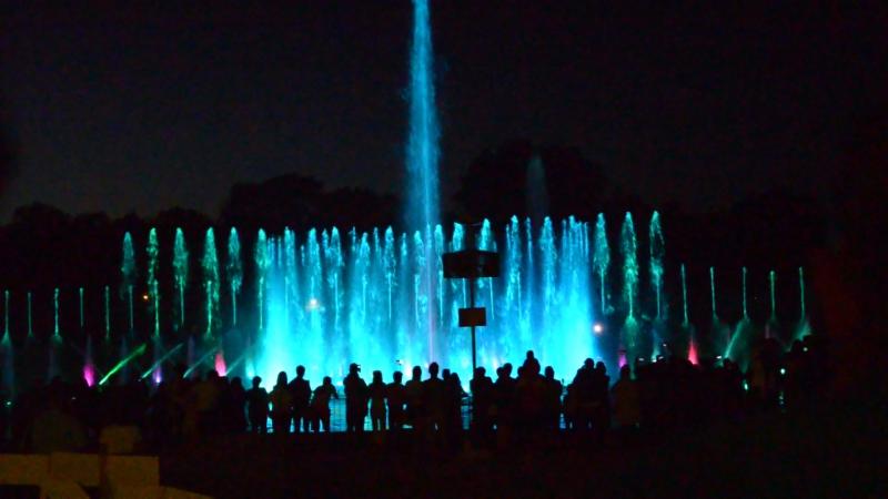 Мультимедійний фонтан у Вроцлаві