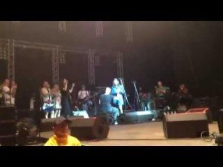 Сергей Шнуров на концерте в ЛДС