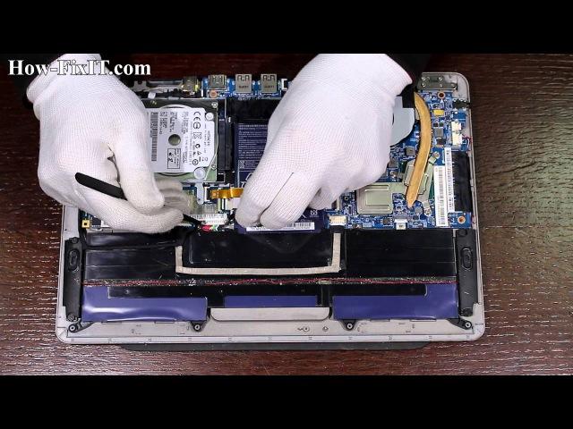 Acer Aspire S3-951 MS2346 разборка и замена mSata SSD платы от how-fixit.com