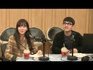 160218 두시탈출 컬투쇼 EXO - D.O(도경수) & 김소현 by.윤자몽