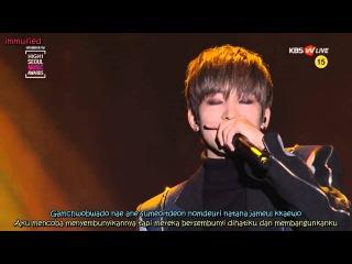 [ROM/INDO LYRIC] Jang Jae In Ft. Wonwoo - Auditory Hallucination @ Seoul Music Awards 2016