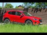 Новая Мазда СХ-5 Mazda CX 5 - олимпиец в красном