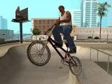 Подборка трюков на bmx в гта сан андреас / Selection on a bmx stunts in GTA San Andreas