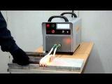 Индукционный нагрев концов заготовок диаметром 30мм