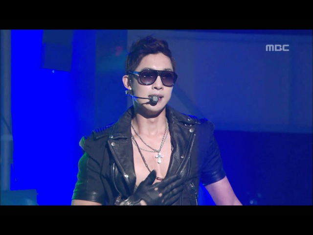 Kim Hyun Joong - Break Down, 김현중 - 브레이크 다운, Music Core 20110611