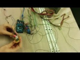 Controling light with reed and relay on arduino