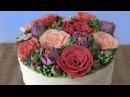 BUTTERCREAM FLOWER CAKE TUTORIAL How To Cook That Ann Reardon