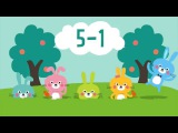Five Little Bunnies Song for Kids  Easter Bunny Song  Nursery Rhymes  The Kiboomers