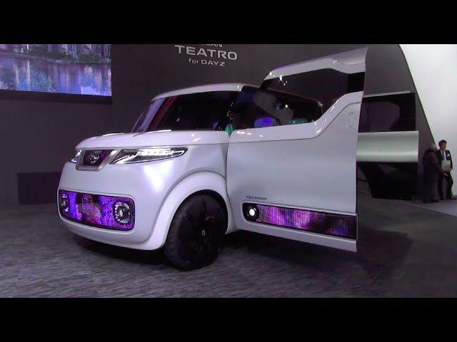 NISSAN TEATRO for DAYZ - Exterior Interior - Sapporo Motor Show 2016