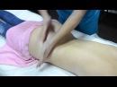 Массаж попы:) или крестцово-ягодичного отдела. Обучение массажу спины. Часть 1