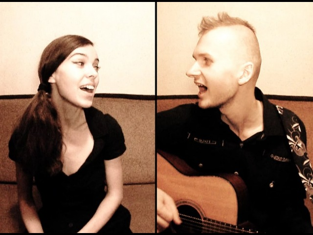 Serg and Ira - Something Stupid (Frank and Nancy Sinatra cover)