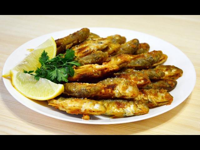 Черноморская Барабулька жареная рецепт
