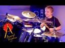 SHOOT TO THRILL AC DC 7 year old Drummer Drum Cover