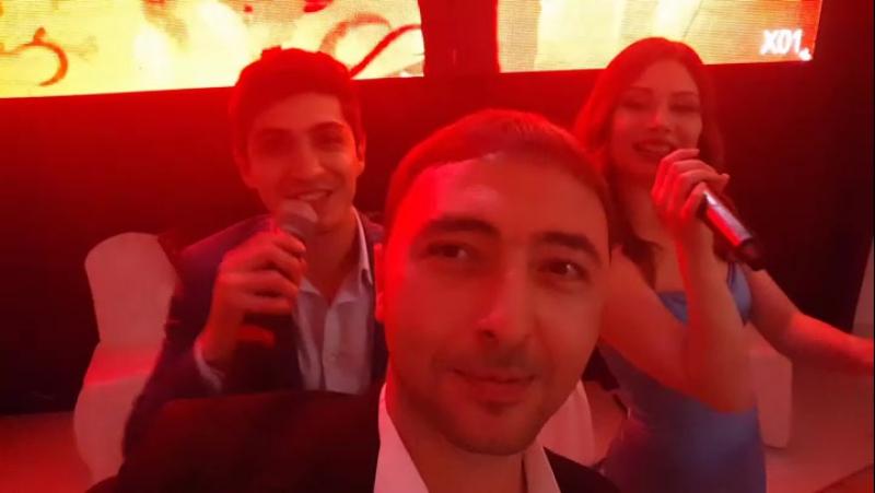 На свадьбе Ашамаза и Элины Бекалдиевых