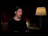 Несломленный/Unbroken (2014) Интервью с Джеком О`Коннеллом, Мияви, Гарретом Хедлундом и Финном Уиттроком (русские субтитры)