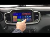 Штатная магнитола на Kia Sorento Prime на Андроиде 4.4