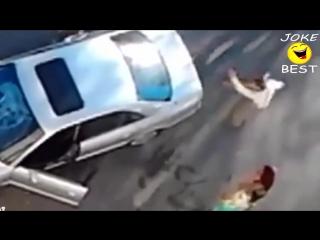 Смешное видео! Приколы про машины нарезка неудач | Autocompass.com.ua