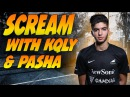 CS GO | ScreaM playing overpass with KQLY pashaBiceps (old, rare VOD)