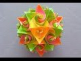 Поделки к Новому Году Из Бумаги Шар Своими Руками Вola Оригами Подарки Поделки с детьми