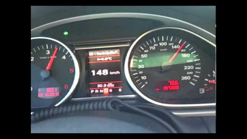 Audi Q7 3.0TDI 233KM sprint 0-190km/h