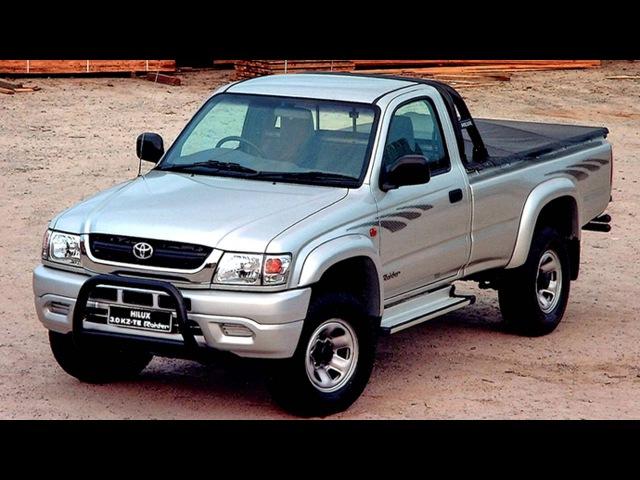 Toyota Hilux 3 0 KZ TE Raider Single Cab ZA spec '2001–05