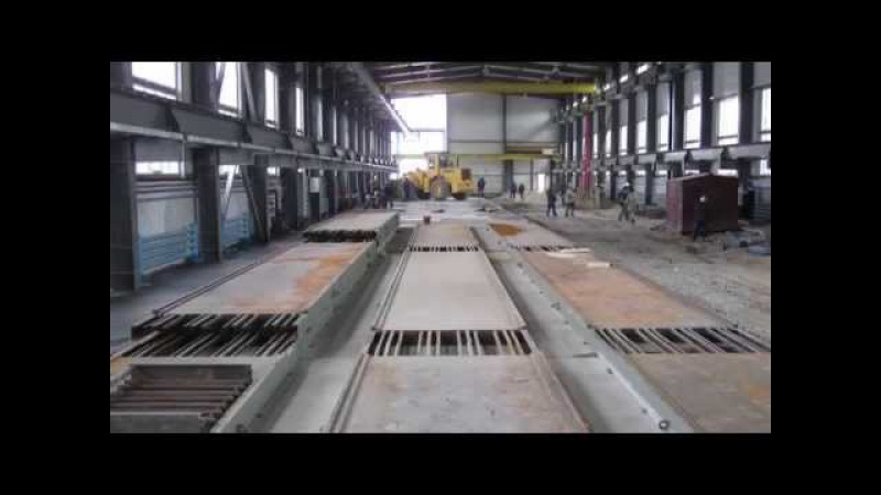 NEW MAX-truder for Hollowcore Slabs in Kazakhstan / Завод Пустотные Плиты Стройдеталь в Актобе