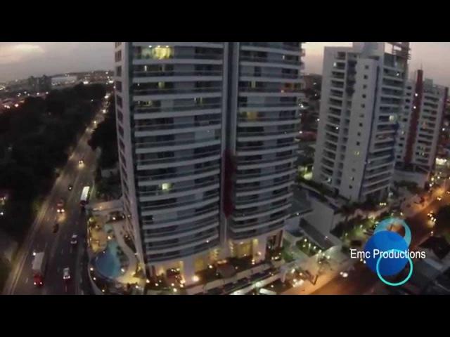 Drone Manaus Phantom 1 Filmagem do Edifcio Rubi