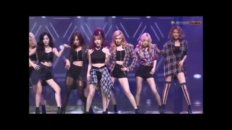 [HD] SNSD - Check (Tencent K-POP LIve Music)