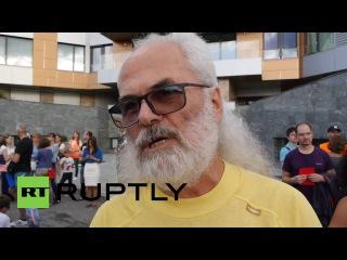 Словакия: Тысячи требуют отставки Премьер-Министр и Министра Внутренних Дел в Братиславе.