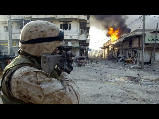 U S MARINES IN IRAQ REAL COMBAT HEAVY CLASHES WAR IN IRAQ