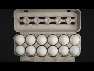 Откуда берутся куриные яйца. (русская озвучка)
