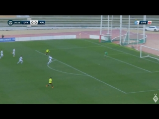 Динамо 0-1 Малага Гол: Рікардо Орта 1хв.