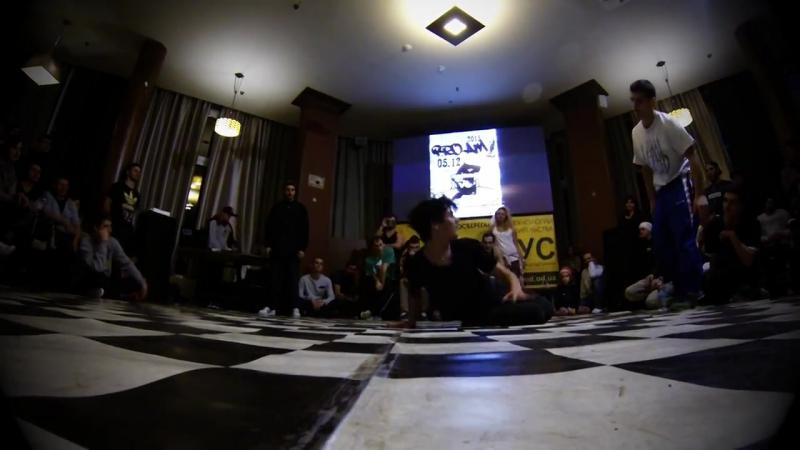 Bboy NextOne vs Bboy Lev PROAM ODESSA 2015_HD