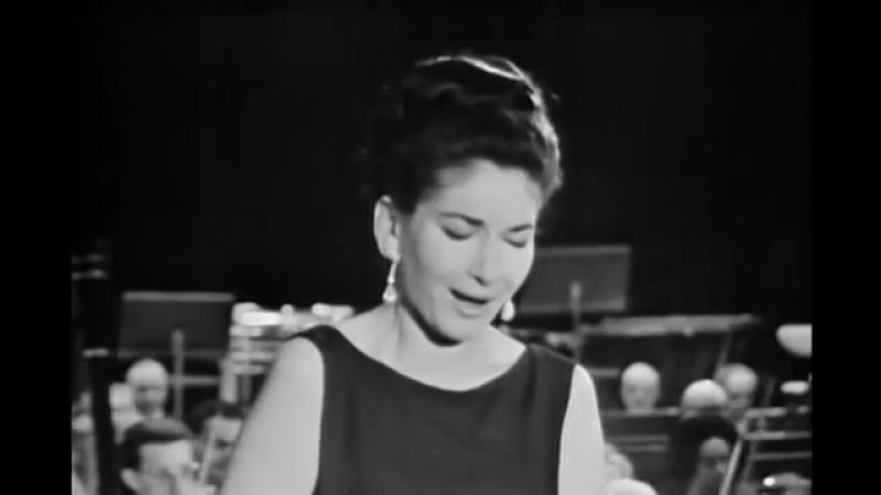 Maria Callas - O Mio Babbino Caro (Giacomo Puccini - Gianni Schicchi, 1965)