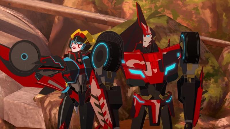 «Трансформеры. Роботы под прикрытием» Виндблейд. (23 серия HD)