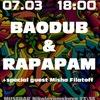 7 марта RAPAPAM & BAODUB в клубе MUSE