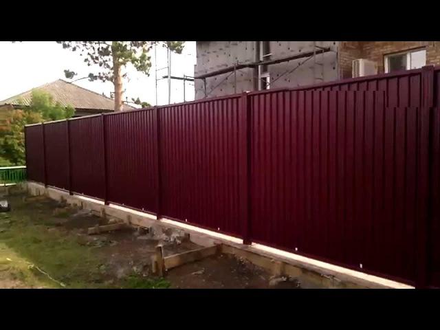 Забор grandline в емельяново