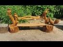 Мир садовой мебели лавки деревянные для для дачи и сада своими руками Дачные иде...