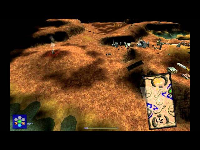 RBMW Engine vs Crabster on Desertec