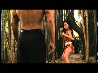 Maggie Q and Shane West   So young