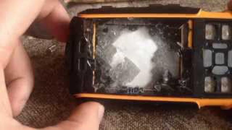 ЖЕСТЬ Убиваю защищенный телефон Crash test No 1 A9 rugged phone IP67 review