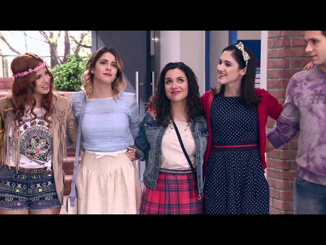 Виолетта 3 - Ребята поют Algo se enciende - серия 21